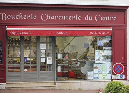 Boucherie du centre à Fondettes