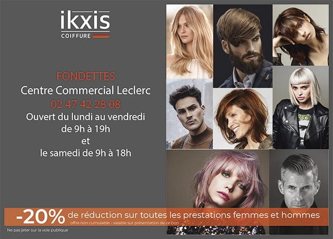 Offre Première visite Ikxis Fondettes