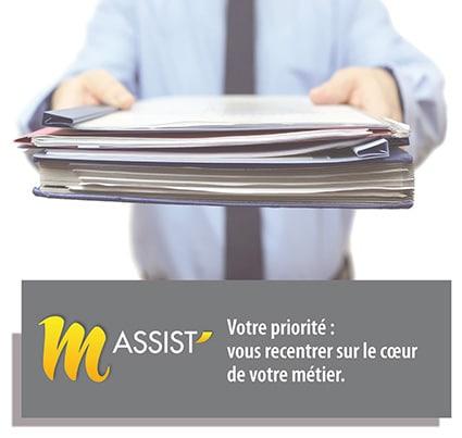 M'Assist assistance administrative